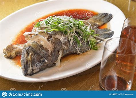 grouper fish seafood cuisine chinese