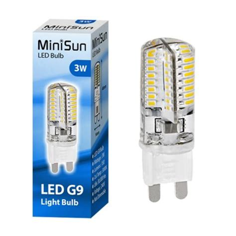 buy minisun mini high power 3w g9 led bulb 3000k 180lm