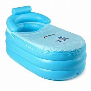 Portable, Health, Care, Tub, 55, 63, Inch, Inflatable, Bath, Tub, Super, Large, Pvc, Bath, Tub, Bath, Bucket