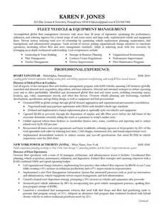 executive resume sle operations management on behance