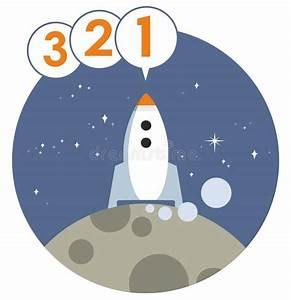 Rocket Launch Countdown Vector Graphic Stock Vector ...