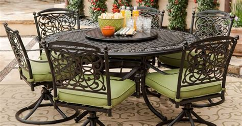 renaissance outdoor patio dining set 9 pc sam s club
