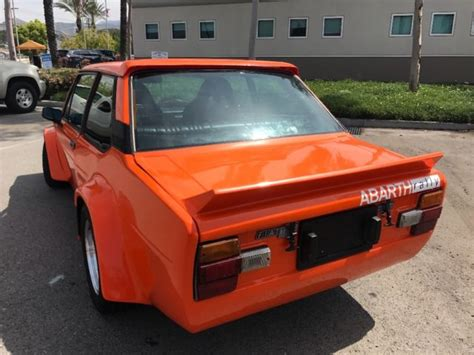Fiat 131 Abarth For Sale by Fiat 131 Abarth Clone For Sale Photos Technical