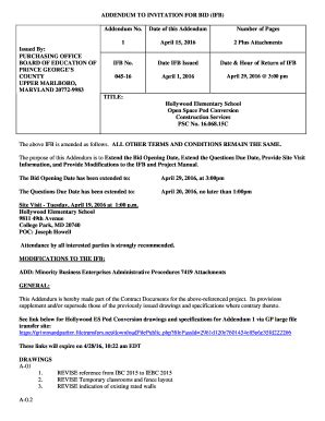 20 Printable invitation to bid construction Forms and