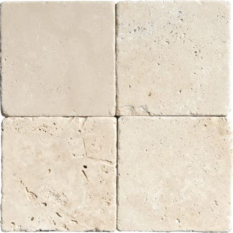 tumbled travertine tile ivory tumbled travertine tiles 4x4 marble system inc