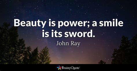 beauty  power  smile   sword john ray