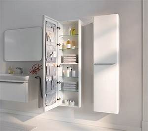 Salle de bain design avec meuble de rangement salle de for Salle de bain design avec rangement salle de bain castorama
