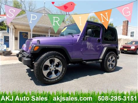 Used Jeeps For Sale In Ma by Used 2004 Jeep Wrangler For Sale In West Wareham Ma