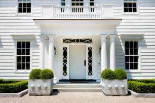 Beautiful Front Portico Plans by Modern Colonial Traditional Entry New York By