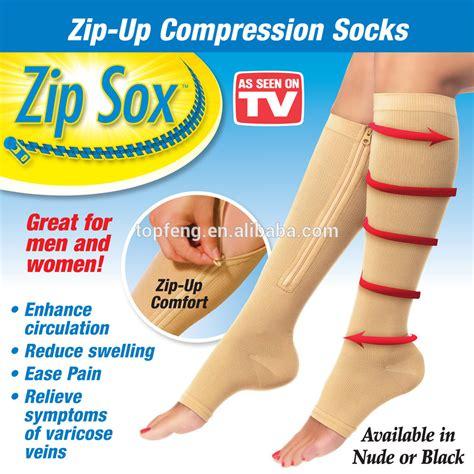 Zipup Compression Sockszip Soxmiracle Sockscompression
