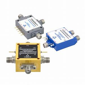 Spdt Pin Diode Switches Cover 10 Mhz To 67 Ghz Range