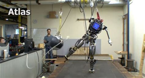 darpas newest humanoid robot takes blows wrecking balls