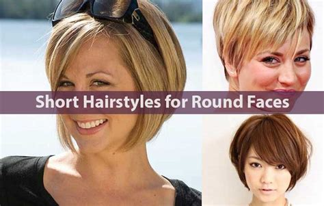 30 New Short Hairstyles For Round Faces