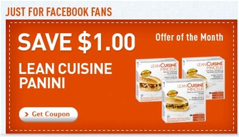 lean cuisine coupons canadian daily deals lean cuisine save 1 lean