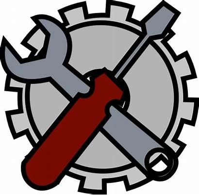 Tools Admin Icon Clip Clipart Maintenance Domain