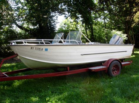 Fishing Boats For Sale In Lexington Ky by 1969 16 Foot Starcraft Super Sport Small Boat For Sale In