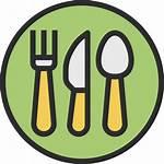 Restaurant Canteen Icon Court Icons Eten Drinken