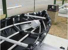 MacGyver Would Be Proud DIY Canoe from PVC Pipe, Duct
