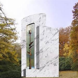 Grabsteine Preise Einzelgrab : einzelgrab grabstein mit rose modern stilvolle ~ Frokenaadalensverden.com Haus und Dekorationen