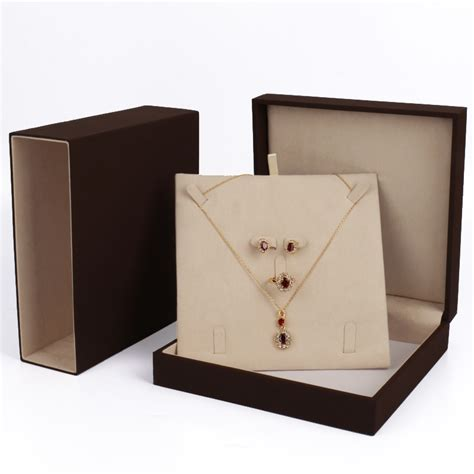 designer jewelry box quality custom necklace gift box fashion designer