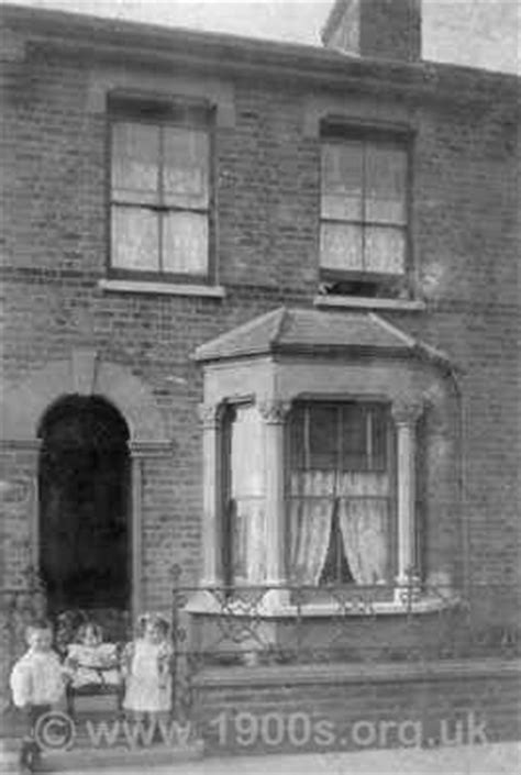typical victorianedwardian house  home