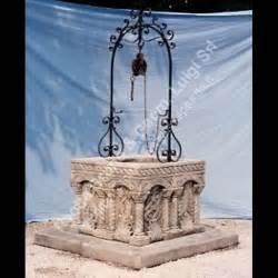 pozzi da giardino in pietra peotta bruno pozzo bizantino quadrato di pietra pozzo