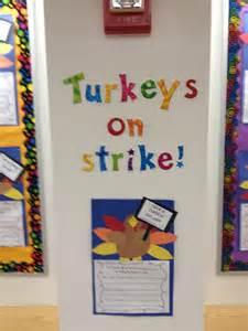 Turkeys On Strike Writing Activity