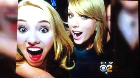 Meeting Taylor Swift at the Grammy's CBS Interview - YouTube
