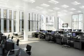 Banker Office Space Interior Design Ideas Office Space Design Office Designs Office Spaces Office Interior Space Office Interior Design Ideas Creating Office Space Design Small Office Space Design Ideas