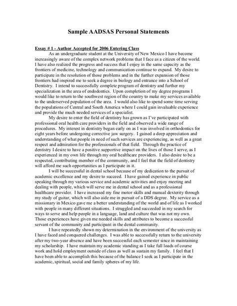 Personal Statement For Resume by Personal Statement Exle Http Www