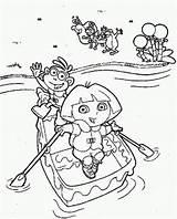 River Coloring Nile Dora Sheet Getdrawings Drawing Printable Getcolorings Sesame Colorings sketch template