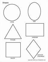 Shapes Printable Basic Templates Coloring Pages Shape Stencils Firstpalette Crafts Cut Printables Preschool Simple Toddlers Activities Learning Worksheets Colored sketch template