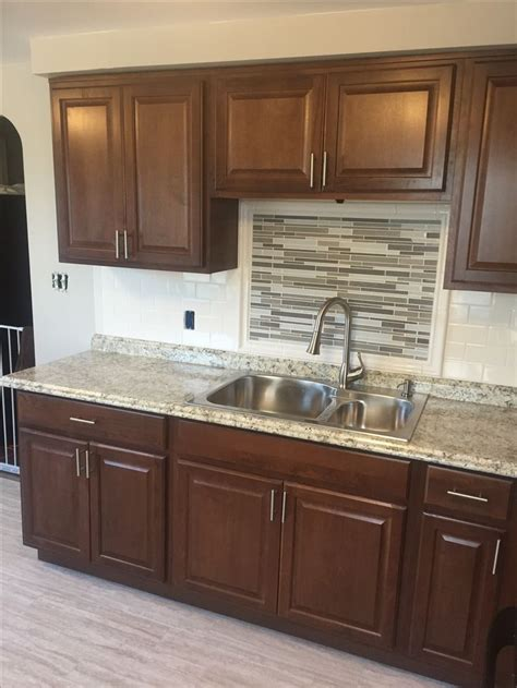 cognac color kitchen cabinets 234 best images about rental property on pinterest glass