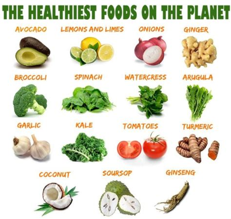 Tips Kandungan Sehat The Healthiest Foods On The Planet Hilary 39 S Blogspot