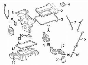 Ford Five Hundred Engine Timing Cover Gasket