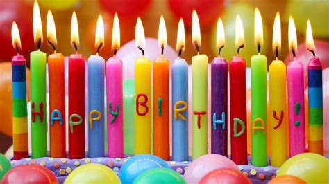 Birthday Candles Hd Wallpaper Stylishhdwallpapers