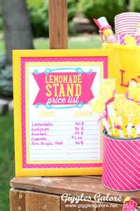 kitchen tea decoration ideas 10 tips for a successful lemonade stand