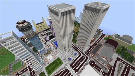 modern city map minecraft metropolis modern city created using vanilla minecraft screenshots show your creation