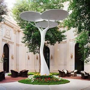 Statue Jardin Design : statue jardin design sculpture moderne pour donner un souffle de vie au jardin contemporain ~ Dallasstarsshop.com Idées de Décoration