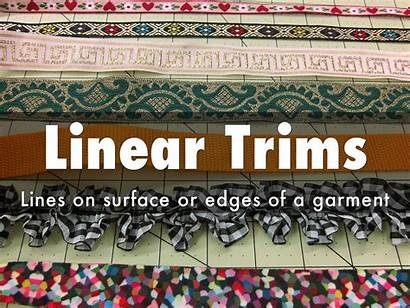 Trims Linear Narrow Garment
