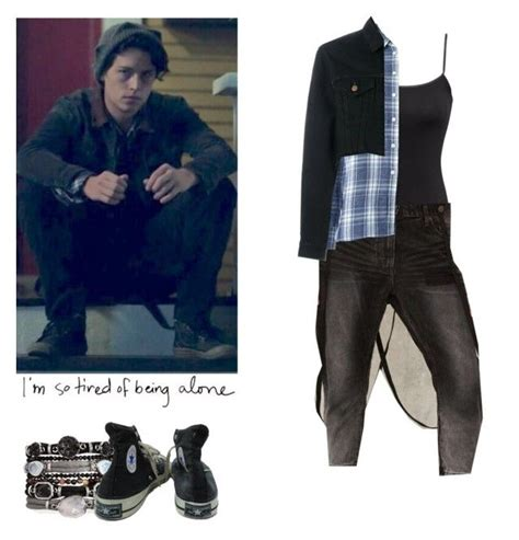 Jughead Jones - Riverdale by shadyannon on Polyvore featuring polyvore fashion style Hu0026M 6397 ...