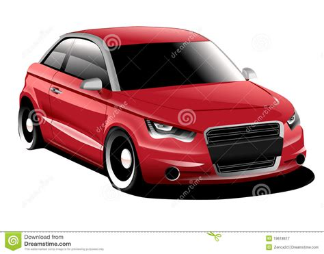 Audi A1 Compact Car Royalty Free Stock Photography Image