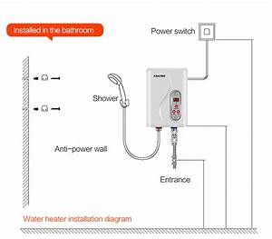 Tankless Water Heater Installation Diagram