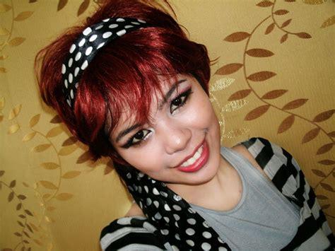 beautyklove ridiculous halloween makeup tutorial   short  red hair
