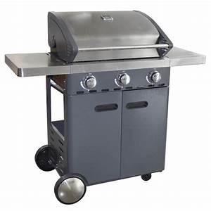 Barbecue Au Gaz NATERIAL Florida Leroy Merlin