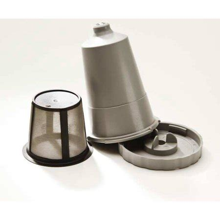 The package includes a basket, holder and lid for the filter. NEW Keurig Coffee Filter Basket Reusable My K-Cup ...