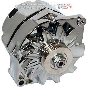 alternator 140 for chrome ford falcon mustang hotrod 1 wire hookup chevy gmc ebay