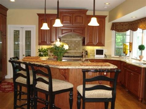 Angled Kitchen Island Designs As Small Kitchen Design