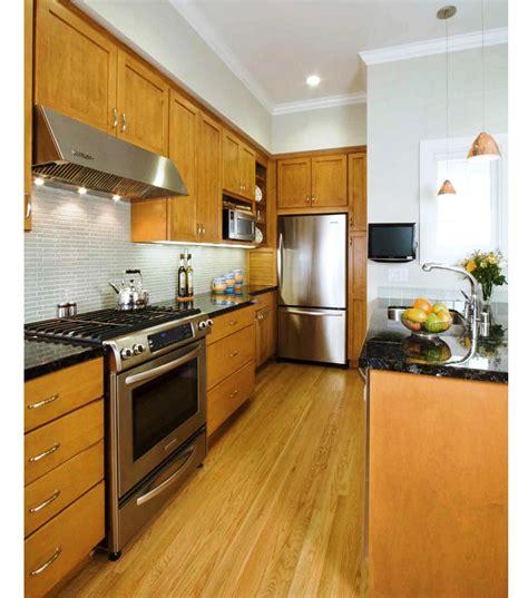 best kitchen design ideas the best galley kitchen designs for efficient small kitchen
