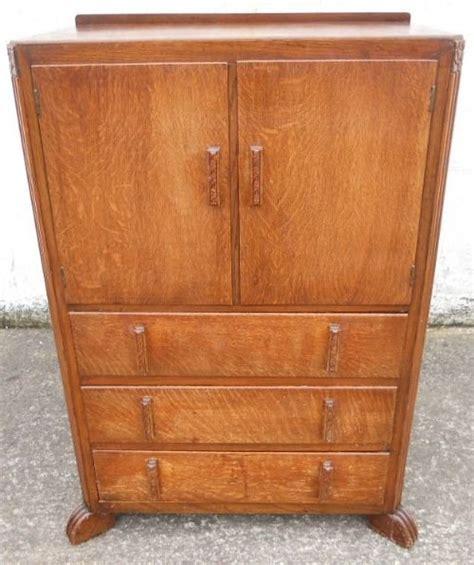 Tallboy Cupboard by Oak Tallboy Cupboard Drawers 153574 Sellingantiques Co Uk